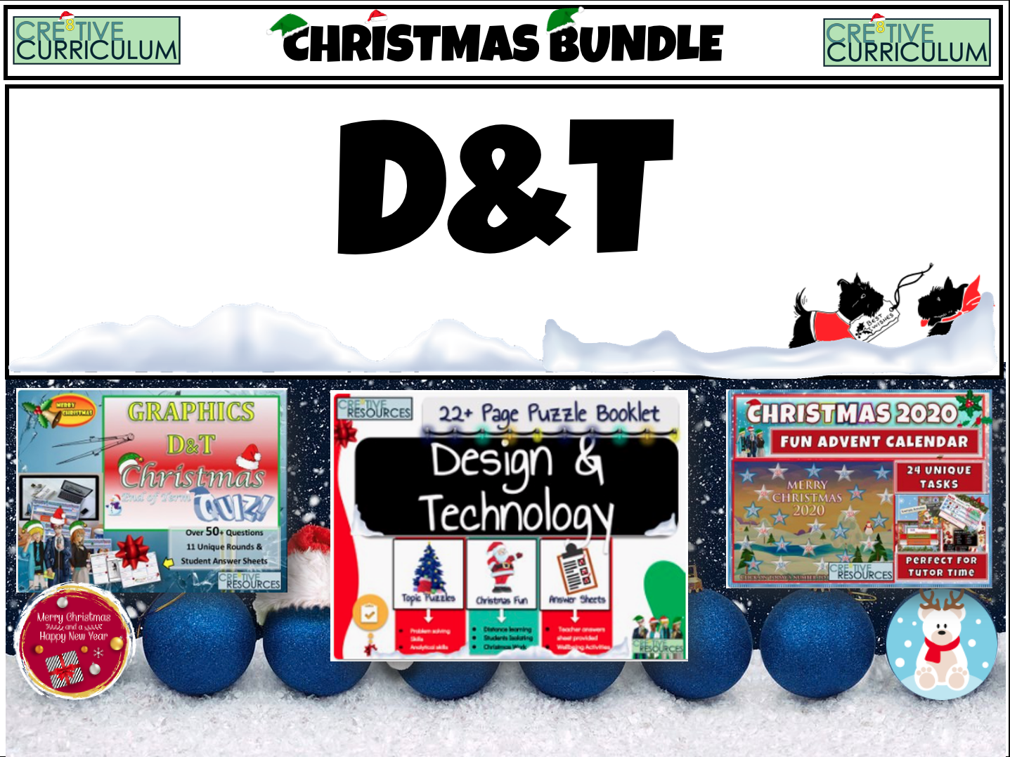 D&T Christmas Resources