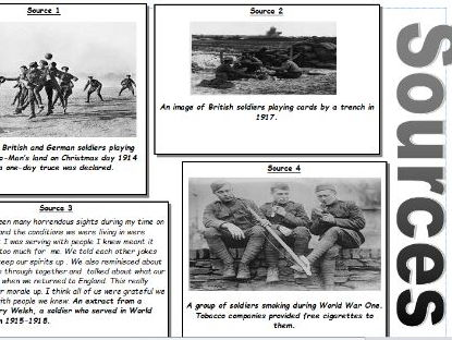 World War One - Was life always bad in the trenches?