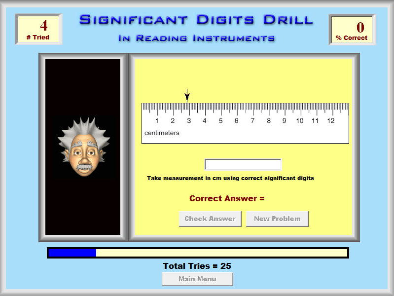 Science - Physics & Chemistry - Significant Digits Drill Software