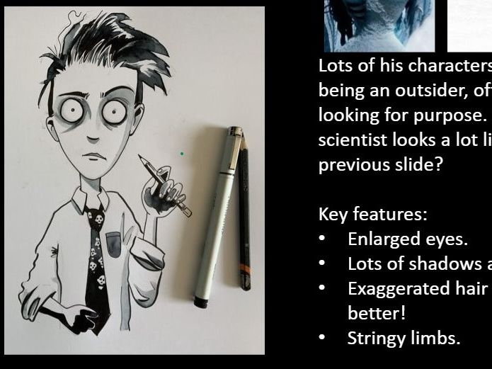 Tim Burton Character Design