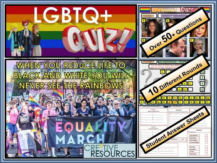 Bullying: Anti - Bullying Week:  LGBT Quiz