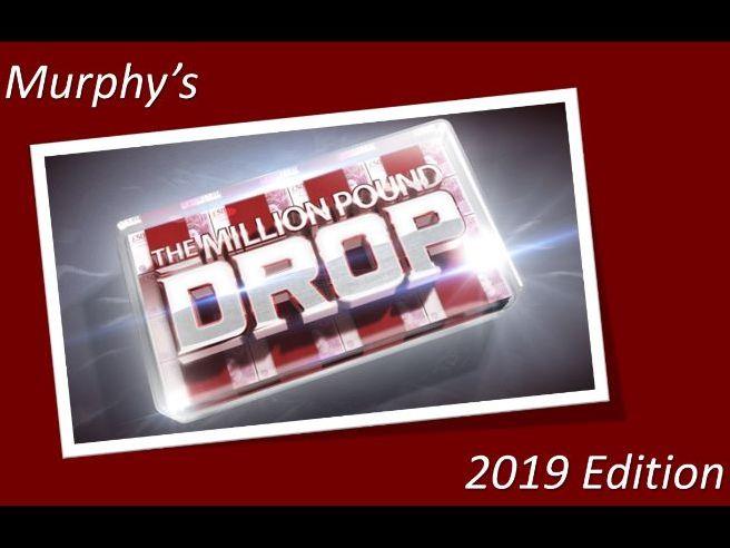 Million Pound Drop Game 2019