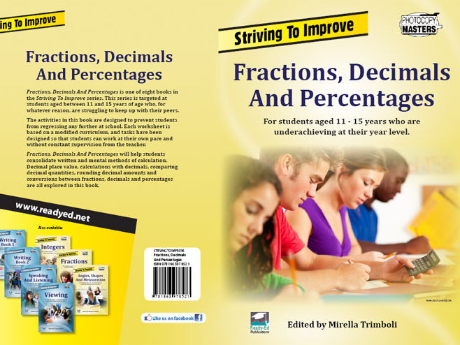 Striving to Improve Series: Fractions, Decimals & Percentages (Australian E-book for at risk)