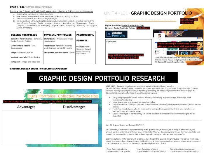 GCSE GRAPHIC Design | Research PORTFOLIOS