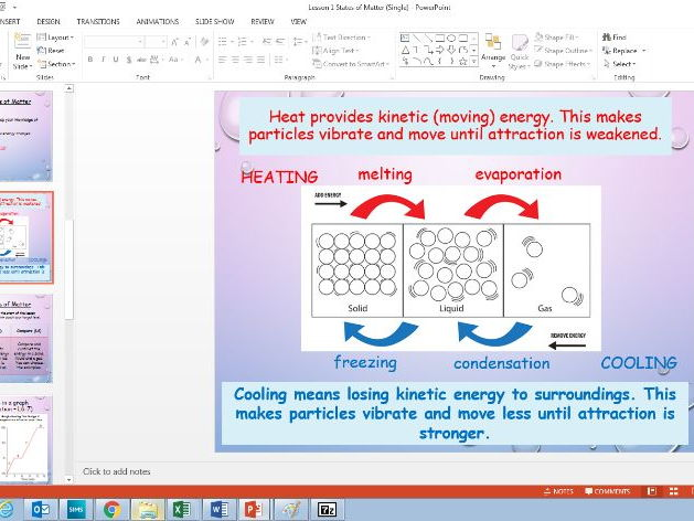 COMPLETE Lessons for KS3 or KS4 Exothermic Endothermic Conservation of Energy Lessons