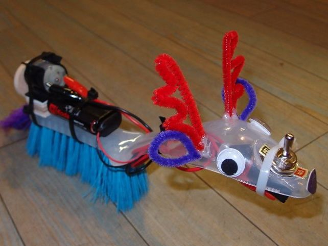Vibrating Brush Monsters: Electricity & Forces KS2 STEM