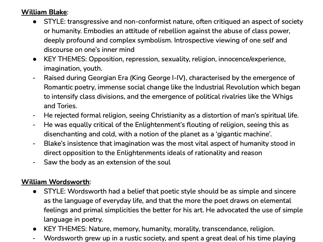 The Complete English Literature A-Level Revision Bundle