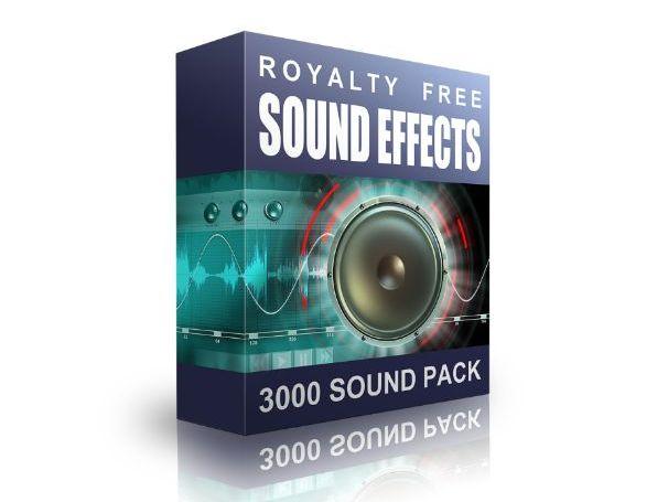 3000 Sound Effects Pack