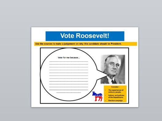 The Roaring Twenties, Hoover and Roosevelt (AQA US Opportunity and Inequality)