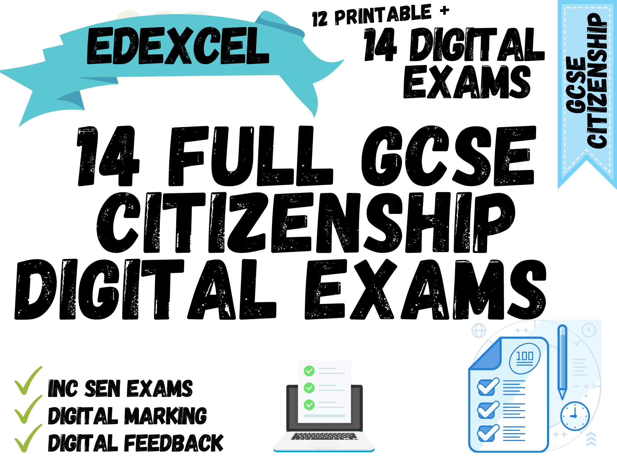 GCSe Citizenship Edexcel Exam Package