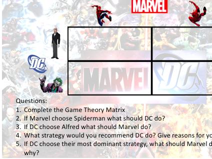 A Level Economics - Game Theory