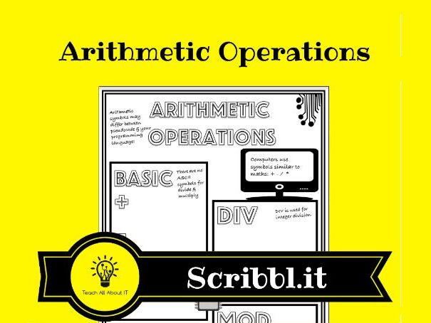 Arithmetic Operations - Scribbl.it Notes