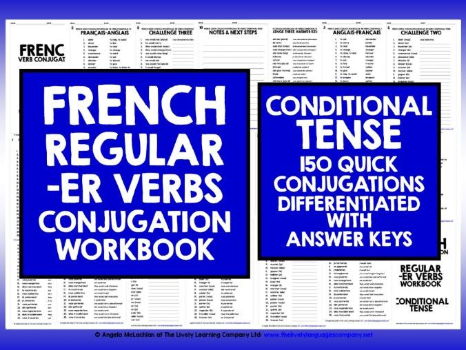 FRENCH CONDITIONAL TENSE -ER VERBS