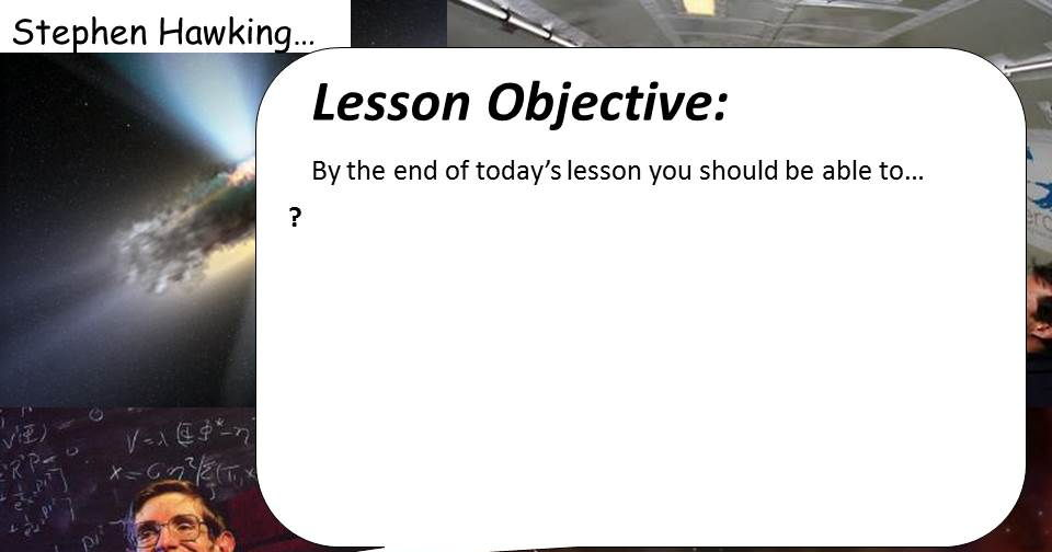 Objectives Power Point
