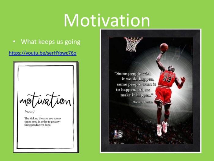 PE GCSE Sport Psychology (Motivation)
