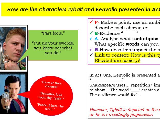 Romeo and Juliet: Tybalt & Benvolio Act 1, Scene 1