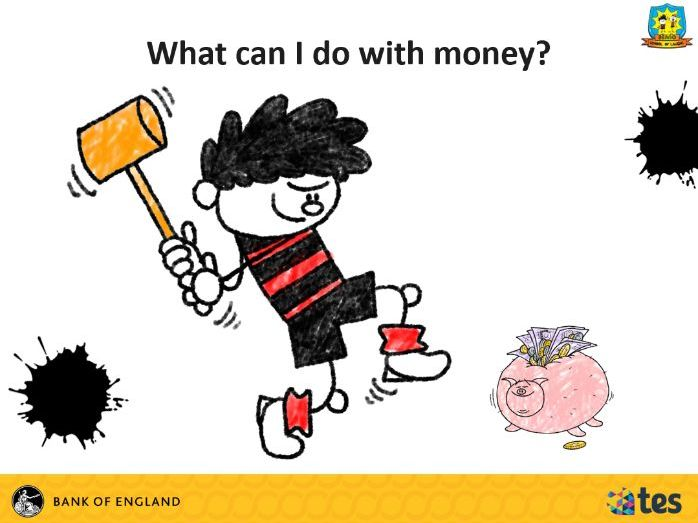Lesson 4 Money and me - What can I do with money? (English curriculum)