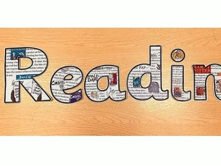 Reading Lettering for display