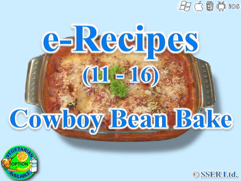12. Cowboy Bean Bake (e-Recipe)