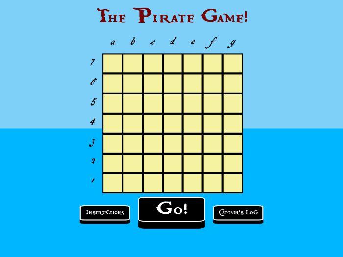 The Pirate Game GUI