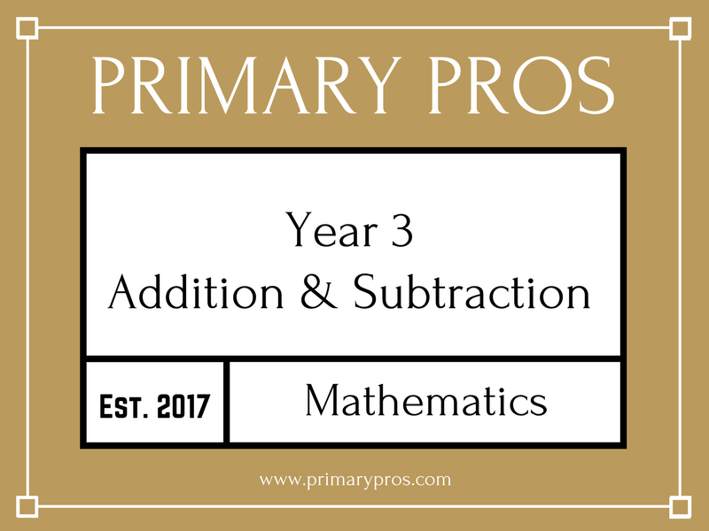 Year 3 Maths - Addition & Subtraction
