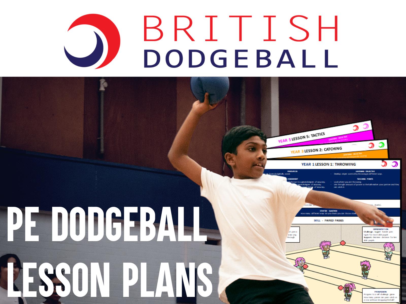 Dodgeball PE Scheme of Work  - Primary School Set