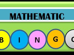 Mode and Range Mathematics Bingo