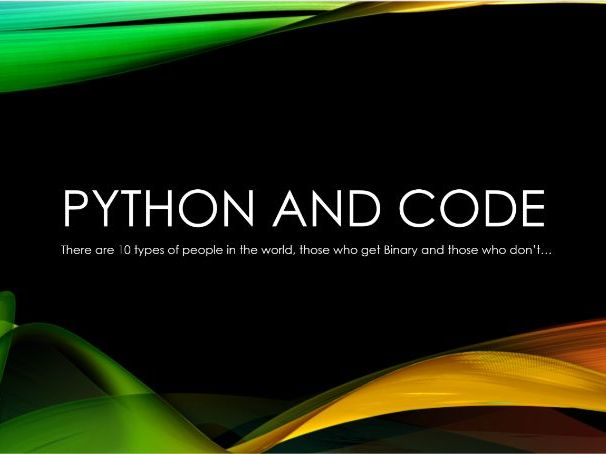 Intro to Python - Full Lesson