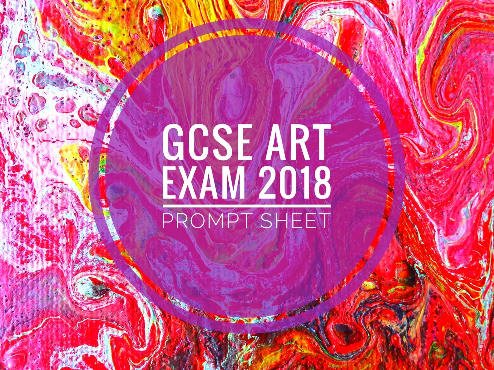 GCSE 9-1 Exam. Art Component 2 student support