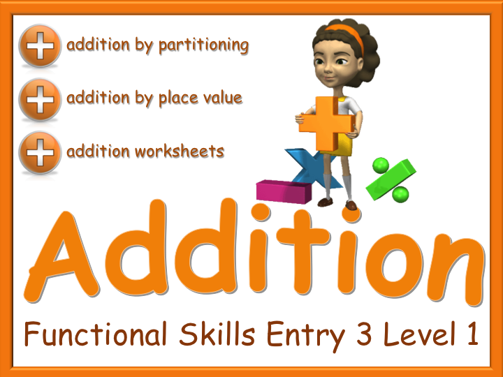 4 Rules - Addition - Functional Skills E3 L1