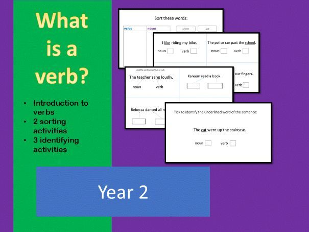 Verbs introduction year 2
