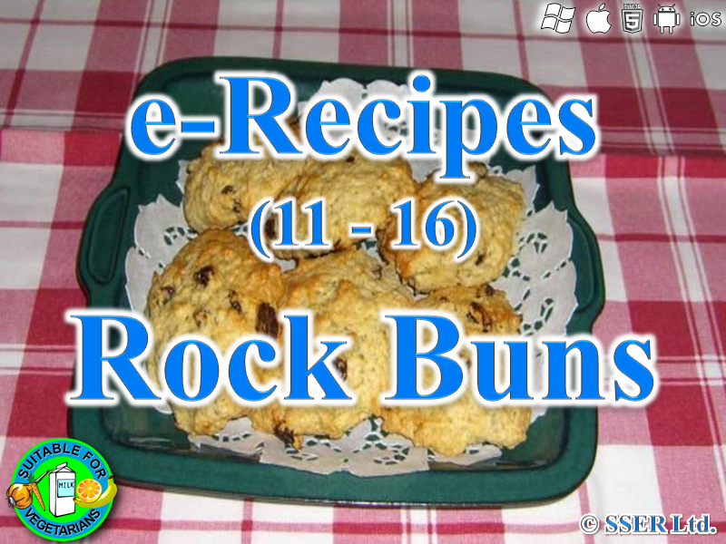 52.   Rock Buns (e-Recipe)