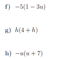 Factorising algebraic expressions and multiplying out single brackets worksheets (with solutions)