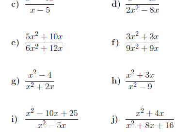 20 GCSE/IGCSE Algebra worksheets (with solutions)