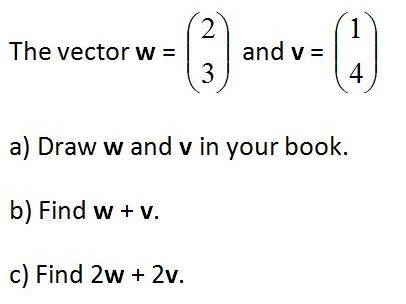 Column Vectors Worksheet GCSE Maths