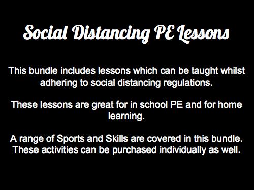 Social Distancing PE Bundle