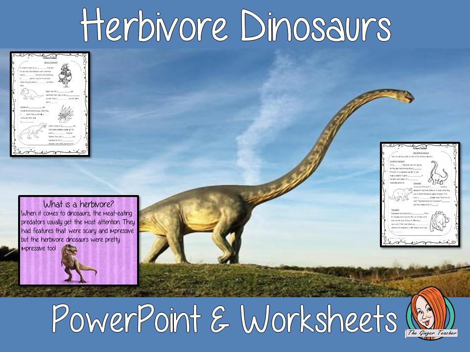 Herbivore Dinosaurs Lesson