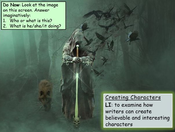 KS3 Creative Writing: Creating Characters