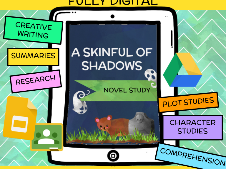 A Skinful of Shadows Novel Study *Updated