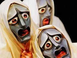 Worksheet on masked theatre