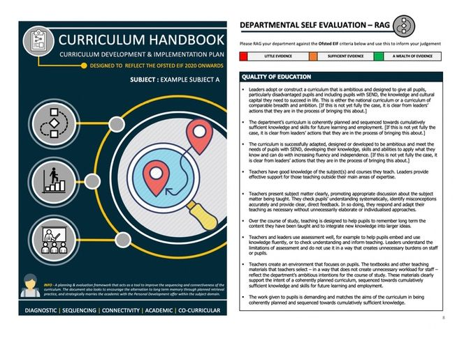 Curriculum - Sequence, SEF and Development Plan