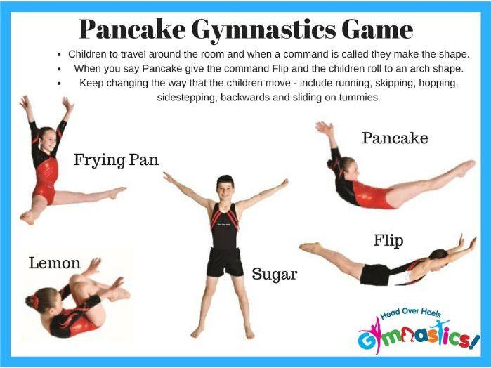 Pancake Day Gymnastic Activity/Pancake Race Warm Up