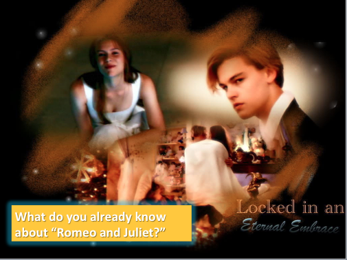 Year 11 GCSE Literature Paper - Romeo and Juliet