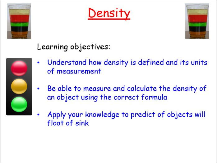 New AQA GCSE Physics: Density