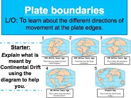 Lesson 2: Plate Boundaries