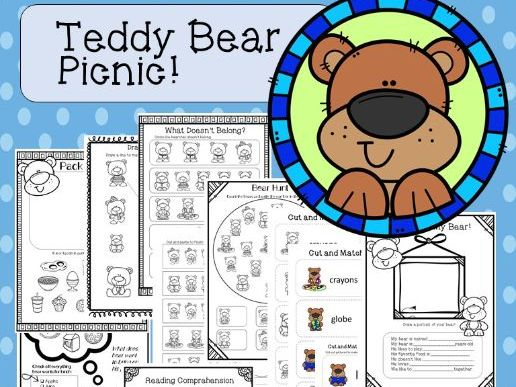 Teddy Bear Picnic!-PreK Package