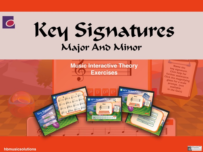 Key Signatures Music Interactive Activities