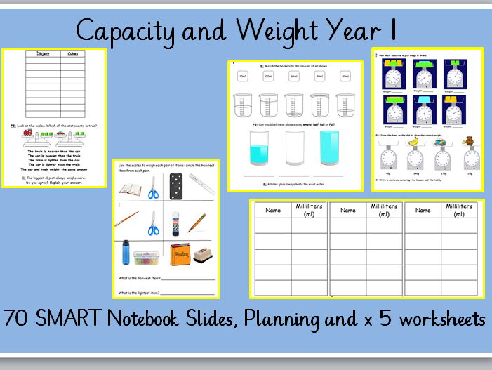 Measurement - Weight and Volume Year 1 White Rose Hub Spring