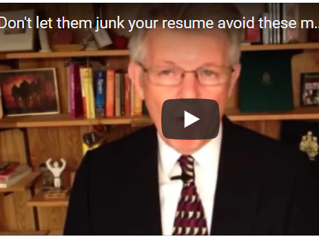 Don't let them junk your resume avoid these mistakes
