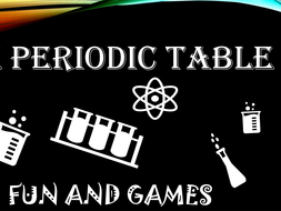 Periodic Table Games! Battleship and more fun!